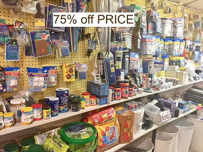 Tropical Fish Supplies 75% off